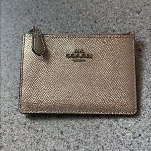 Coach cardholder with ring